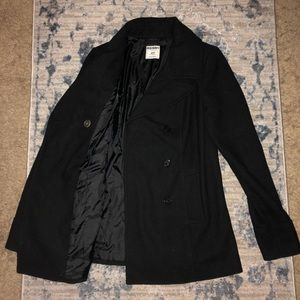 Old Navy Wool Peacoat, Size Small